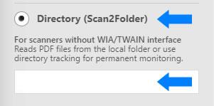 select scan2folder